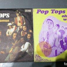 Discos de vinilo: POP-TOPS - 2 SINGLES. Lote 173997213