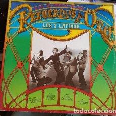 Discos de vinilo: RECUERDOS DE ORO DE LOS 5 LATINOS LP DOBLE.. Lote 173748108