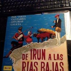 Discos de vinilo: DE IRUN A LAS RIAS BAJAS LP.. Lote 173748118