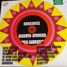 Discos de vinilo: CANCIONES DE HISPANO AMERICA TRIO GUARANIA. LP.. Lote 173748038