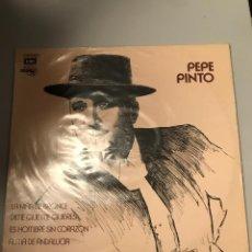 Discos de vinilo: PEPE PINTO. Lote 174008430