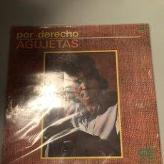 Discos de vinilo: POR DERECHO ABUJETAS. Lote 174009017