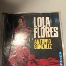 Discos de vinilo: LOLA FLORES. Lote 174009224