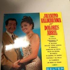 Discos de vinilo: JUANITO VALDERRAMA Y DOLORES VARGAS. Lote 174009509