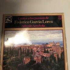 Discos de vinilo: FEDERICO GARCÍA LORCA. Lote 174011672