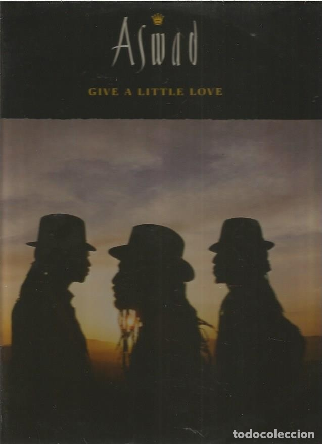ASWAD GIVE A LITTLE LOVE (Música - Discos de Vinilo - Maxi Singles - Disco y Dance)