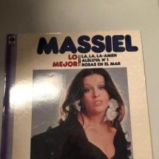 Discos de vinilo: MASSIEL. Lote 174012227