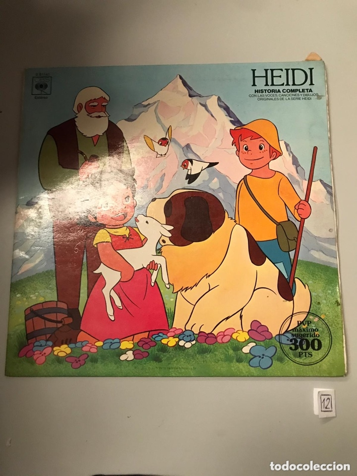 HEIDI (Música - Discos - LPs Vinilo - Música Infantil)