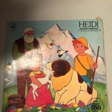 Discos de vinilo: HEIDI. Lote 174012827