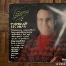 Discos de vinilo: MANOLO ESCOBAR – VILLANCICOS 1 SELLO: BELTER – 2-47.148 FORMATO: VINYL, LP, STEREO PAÍS: SPAIN . Lote 174015063