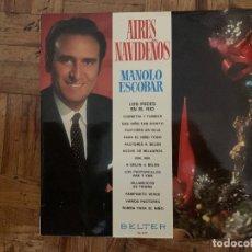 Discos de vinilo: MANOLO ESCOBAR – AIRES NAVIDEÑOS SELLO: BELTER – 22.497 FORMATO: VINYL, LP, ALBUM PAÍS: SPAIN FEC. Lote 174015294