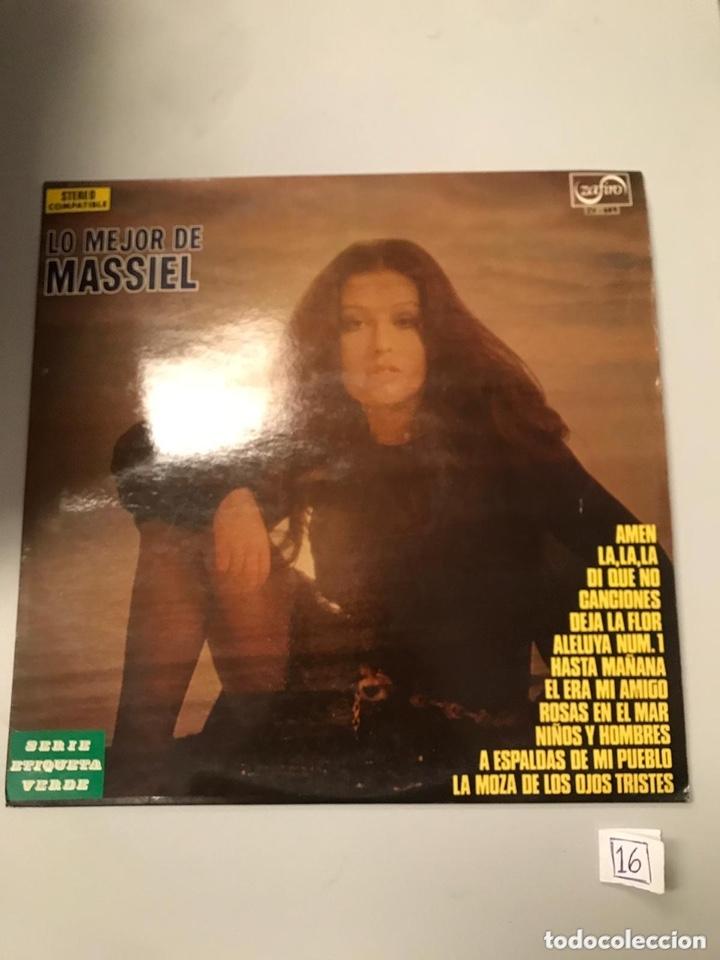 LO MEJOR DE MASSIEL (Música - Discos - LP Vinilo - Otros estilos)