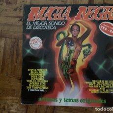 Discos de vinilo: MAGIA NEGRA: EL MEJOR SONIDO DE DISCOTECA SELLO: K-TEL – SL-1013, K-TEL – SL 1013 FORMATO: VINYL . Lote 174015799