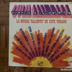Discos de vinilo: VIVA AMERICA - LA MUSICA CALIENTE DE ESTE VERANO SELLO: ZAFIRO – ZL-184 FORMATO: VINYL, LP, COMPI. Lote 174015882