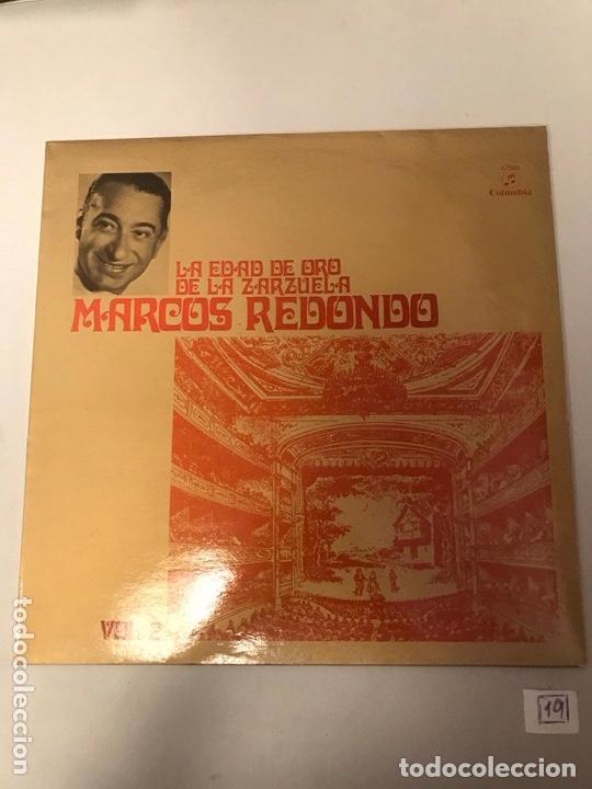 MARCOS REDONDO (Música - Discos - LP Vinilo - Otros estilos)