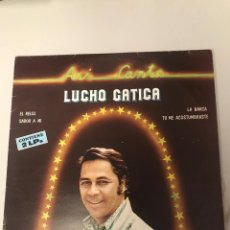 Discos de vinilo: LUCHO GATICA. Lote 174016573