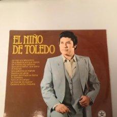 Discos de vinil: EL NIÑO DE TOLEDO. Lote 174016777