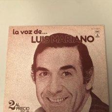 Discos de vinilo: LUIS MARIANO. Lote 174016935