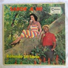 Discos de vinilo: LP VINILO ROLANDO LA'SERIE SABOR A MI, ORQUESTA DE BEBO VALDÉS. Lote 174018203
