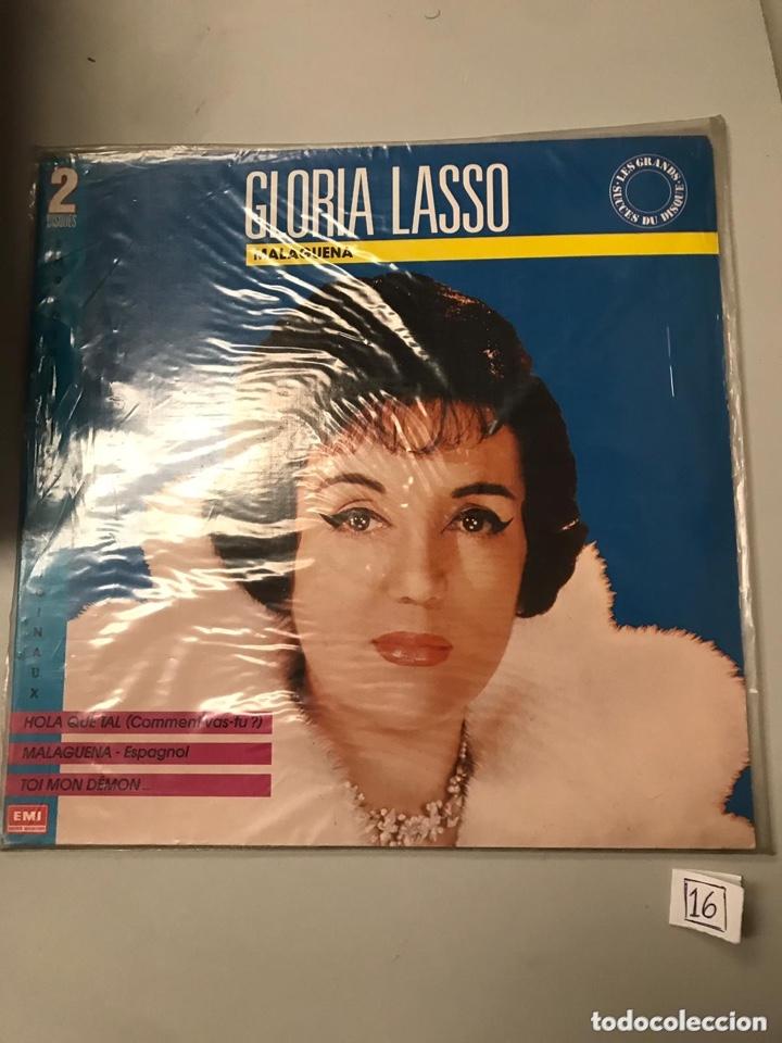 GLORIA LASSO (Música - Discos - LP Vinilo - Clásica, Ópera, Zarzuela y Marchas)
