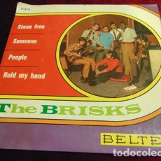 Discos de vinilo: THE BRISKS – STONE FREE + 3 - EP BELTER 1968. Lote 174019257