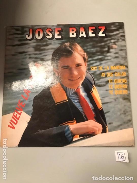JOSÉ BAEZ (Música - Discos - LP Vinilo - Otros estilos)