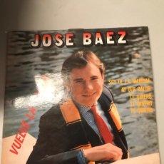 Discos de vinilo: JOSÉ BAEZ. Lote 174021782