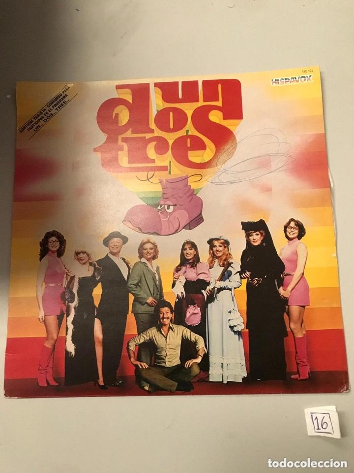 UN DOS TRES (Música - Discos - LP Vinilo - Otros estilos)