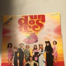 Discos de vinilo: UN DOS TRES. Lote 174021890