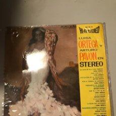 Discos de vinilo: LUISA ORTEGA ARTURO PAVON. Lote 174021908