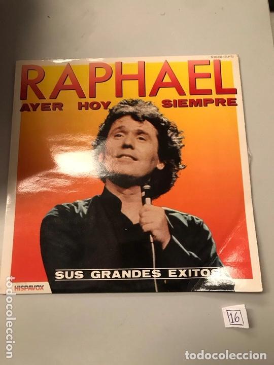 RAPHAEL (Música - Discos - LP Vinilo - Otros estilos)