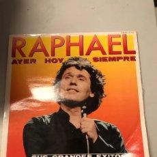 Discos de vinilo: RAPHAEL. Lote 174021985