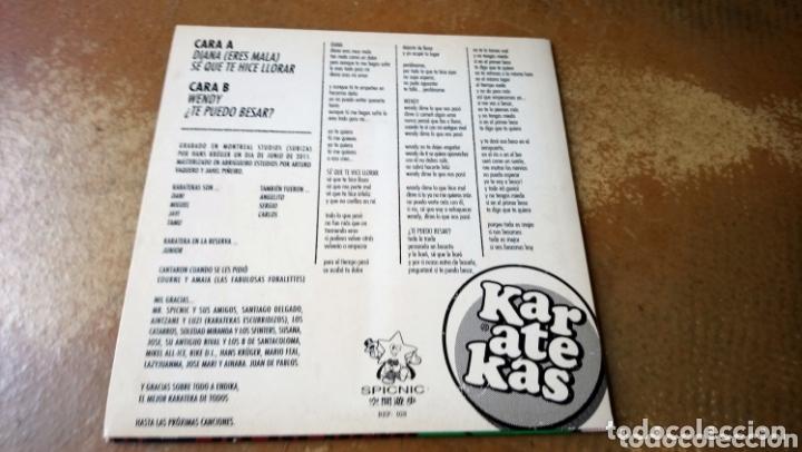 Discos de vinilo: Karatecas - te puedo besar / Wendy / Diana. Ep spicnic - Nuevo - Foto 2 - 174022443