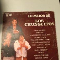 Discos de vinilo: LOS CHUNGUITOS. Lote 174022678