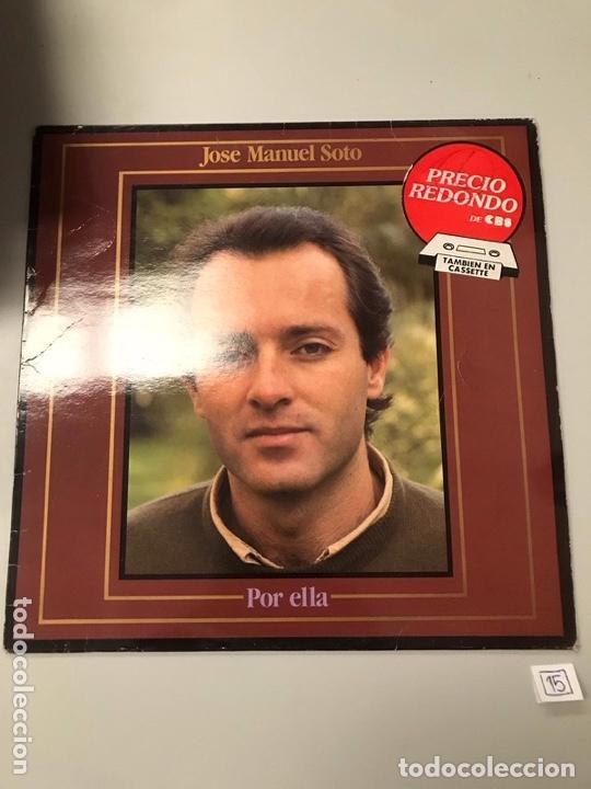 JOSÉ MANUEL SOTO (Música - Discos - LP Vinilo - Otros estilos)