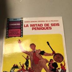 Discos de vinilo: LA MITAD DE 6 PENIQUES. Lote 174022884