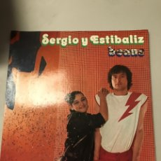 Discos de vinilo: SERGIO Y ESTIBALIZ. Lote 174025377