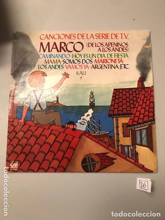 MARCO (Música - Discos - LPs Vinilo - Música Infantil)