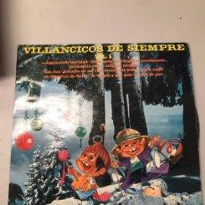 Discos de vinilo: VILLANCICOS DE SIEMPRE. Lote 174027407