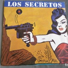Discos de vinilo: LOS SECRETOS - NO ME IMAGINO - SINGLE. Lote 174034860