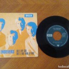 Discos de vinilo: JOYA SINGLE.THE ENDEVERS. SHE´S MY GIRL/SHE´S THAT KIND OF GIRL.DECCA 1968.TRI-CENTRE//MOD FREAKBEAT. Lote 174034957