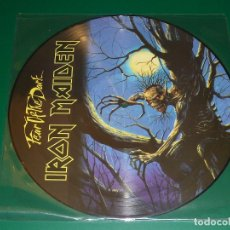 Discos de vinilo: IRON MAIDEN FEAR OF THE DARK PICTURE DISC. Lote 174035360