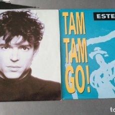 Discos de vinilo: TAM TAM GO - LOTE 2 SINGLES - NUEVOS. Lote 174035469