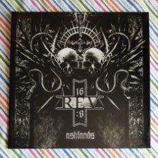 Discos de vinilo: REV 16:8 - ASHLANDS 12'' LP GATEFOLD NUEVO Y PRECINTADO - BLACK METAL. Lote 174037305