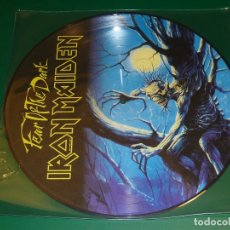 Discos de vinilo: IRON MAIDEN FEAR OF THE DARK PICTURE DISC. Lote 174037462