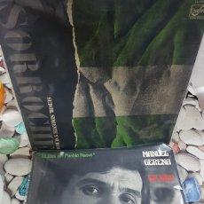 Discos de vinilo: 2 DISCOS JOSÉ SORROCHE Y MANUEL GERENA - BUEN ESTADO - LEER DESCRIPCIÒN. Lote 174038530