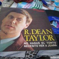 Discos de vinilo: R. DEAN TAYLOR SINGLE NO HAGAS EL TONTO ESPAÑA 1968. Lote 174039669