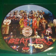 Discos de vinilo: BEATLES SGT PEPPER'S LONELY HEARTS CLUB BAND PICTURE DISC. Lote 174040215