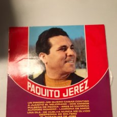 Discos de vinilo: PAQUITO JEREZ. Lote 174042538
