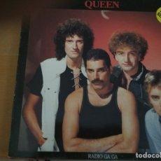 Discos de vinilo: QUEEN RADIO GAGA MAXI VINILO SPAIN. Lote 174045593